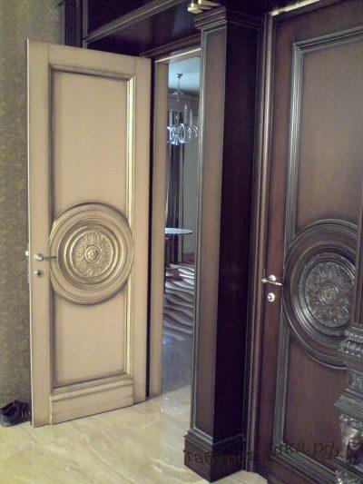 Пример дизайнерской двери