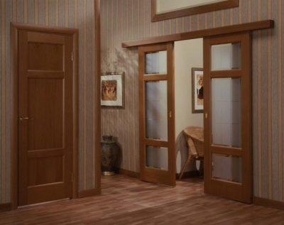Раздвижные двери со звукоизоляцией