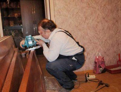 Профессиональная установка врезных замков фрезером