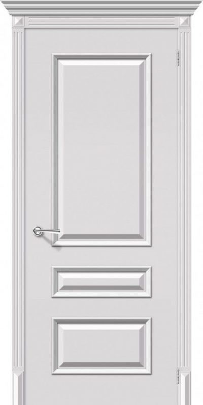 Идеально окрашенная межкомнатная дверь