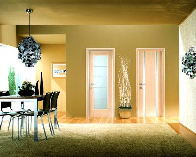 Межкомнатные двери в качестве неотъемлемых составляющих интерьера помещения