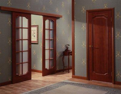Двери межкомнатные роликовые, фото