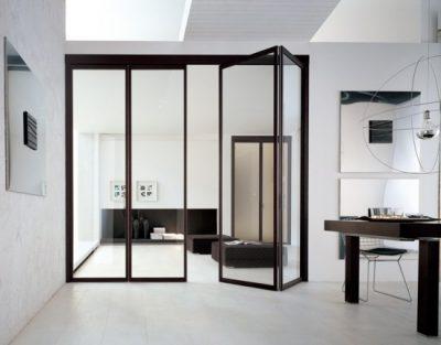 Двери раскладные, межкомнатные – придадут помещению элегантный вид