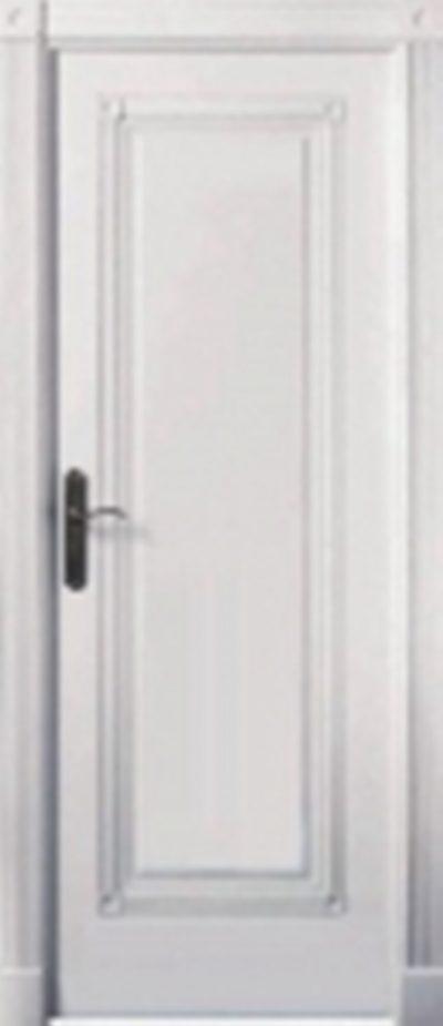 Белые лакированные двери