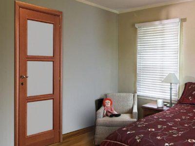Двери Марио Риоли в интерьере спальни