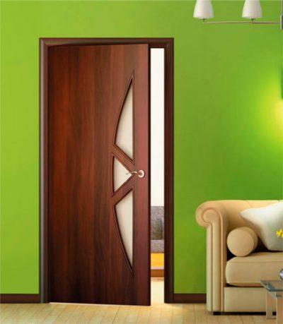 Ламинированные двери роскошно выглядят, несмотря на низкую стоимость