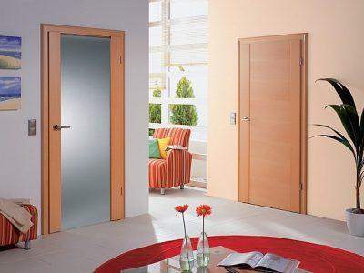 Красота интерьера во многом зависит от дверей