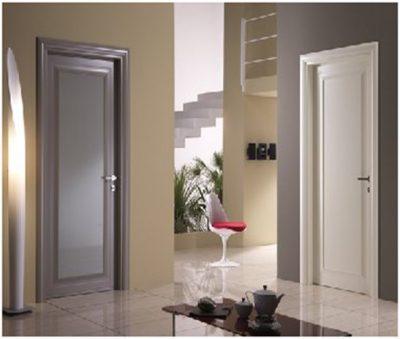 Двери подчеркивают общий стиль комнаты
