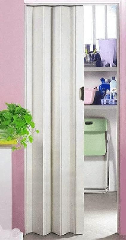 Пластиковая дверь-гармошка