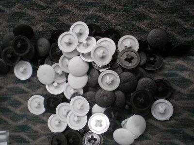 Декоративные заглушки для саморезов