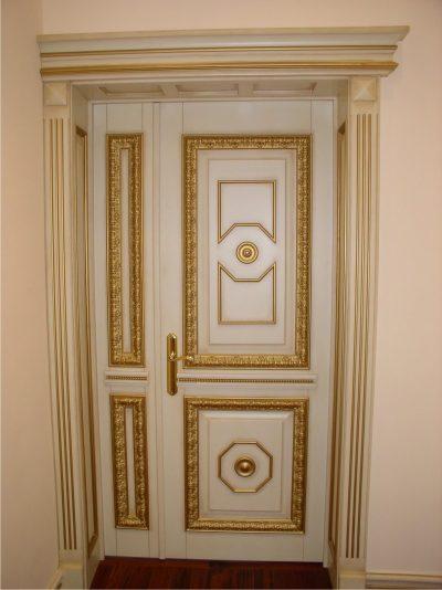 Дизайнерская неравнопольная дверь
