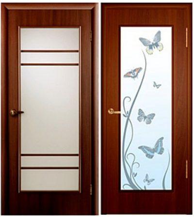 Дизайнерские двери из массива дерева