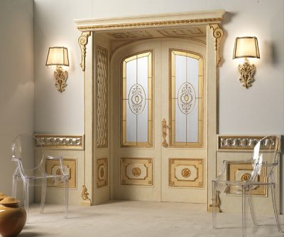 Дизайнерские идеи классических итальянских дверей