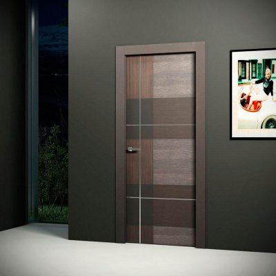 Дверь с покрытием экошпон