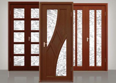 Финские межкомнатные двери со вставками