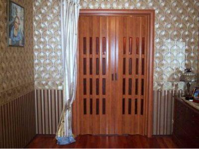 Легкая дверь-шторка