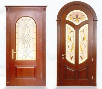 Примеры оформления дверей «Арсенал»