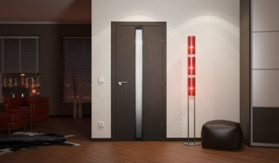 Шпонированная дверь от компании «Краснодеревщик»
