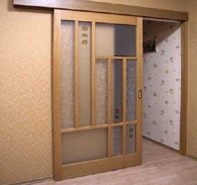 Одностворчатые двери-купе