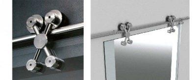 Открытый тип механизма раздвижных межкомнатных дверей
