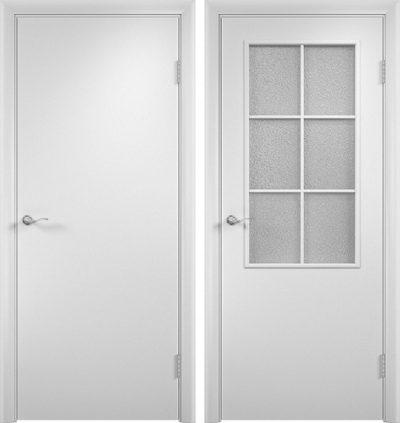 Черновое грунтованное дверное полотно МДФ