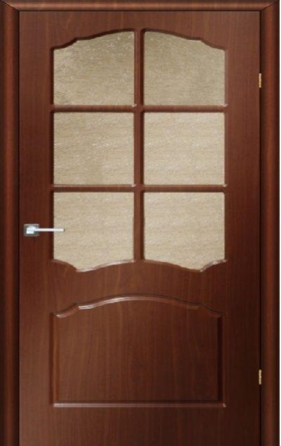 Межкомнатные двери Лидия фото (Итальянский орех)