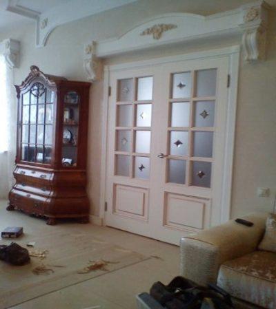 Белые двери эталон стиля