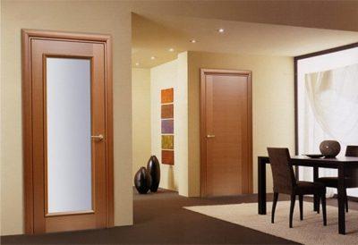 Шпонированная межкомнатная дверь