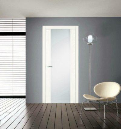 Межкомнатная дверь с лаковым покрытием
