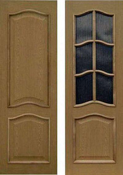 Модель межкомнатной двери (со стеклом и без)