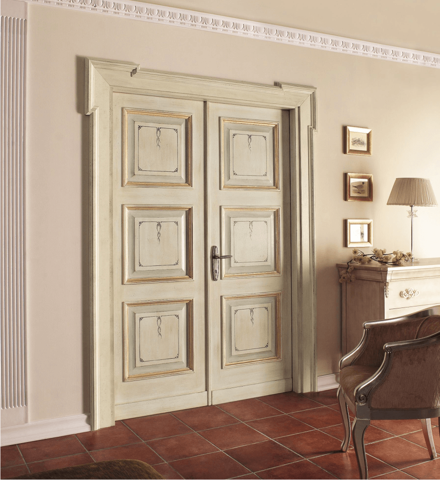 Размещение двери в собственном интерьере
