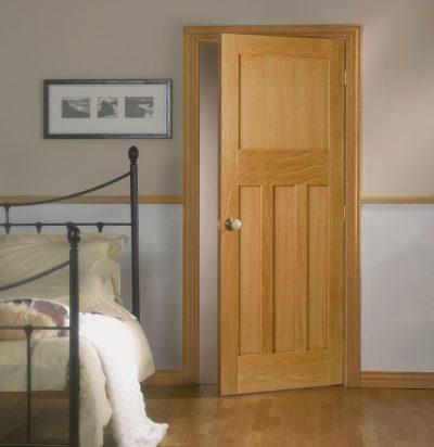Натуральная шпонированная дверь