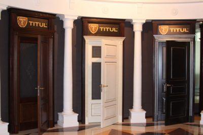 Двери Премиум-класса «Титул» от фабрики «Волховец»