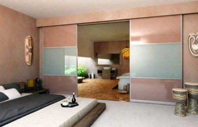 Превращаем комнату в гостиную и спальню