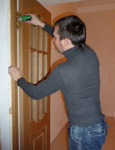 Замена межкомнатной двери