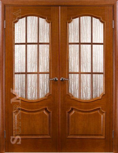 Двери Престиж остеклённые