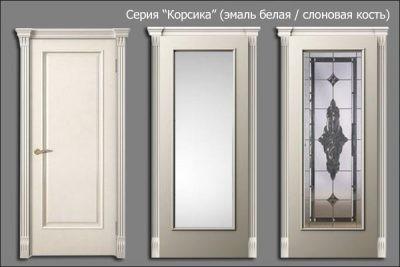 Дверь цвета слоновой кости