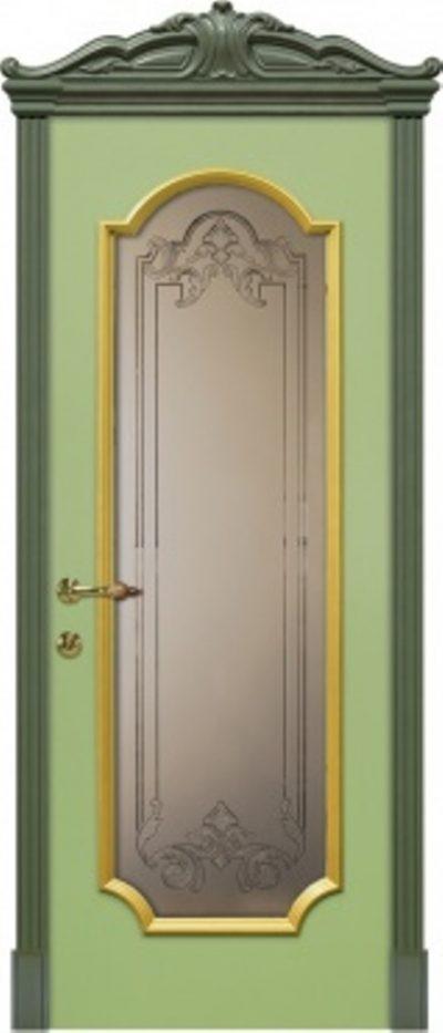 Образец дорогой модели межкомнатной двери