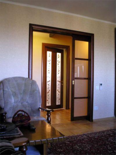 Двери, как украшение интерьера