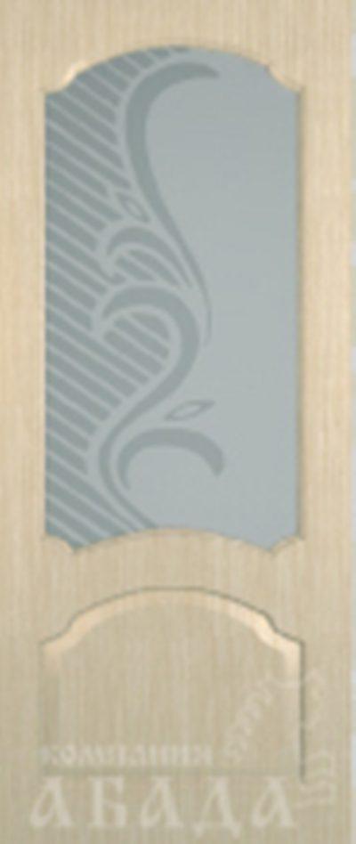 Дверь ПВХ, покрытие под беленый дуб