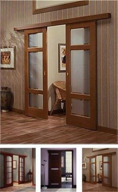 Двери раздвижные в интерьере