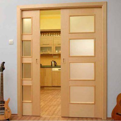 Дверная конструкция типа «пенал»