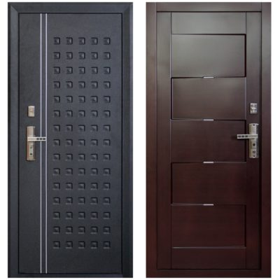 Двери «Форпост» из листового металла