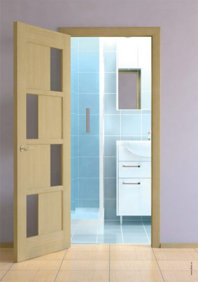 Одностворчатая распашная межкомнатная дверь, фото