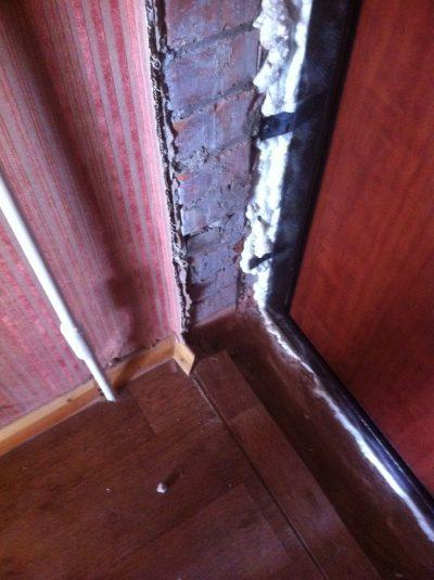 Дверные откосы, которые нуждаются в выравнивании или оштукатуривании