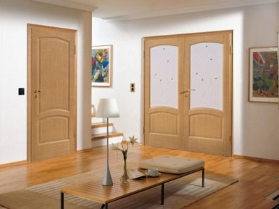 Двери орех миланский светлый