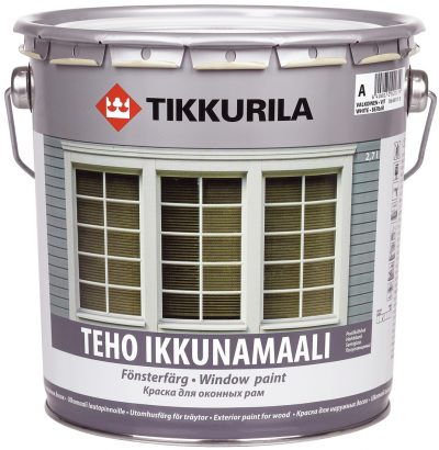 Востребованная краска для окрашивания дверных конструкций от производителя Tikkurila