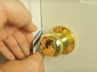 Как вскрыть металлическую дверь