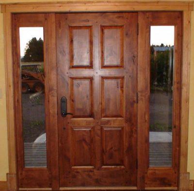 Дверь из дуба
