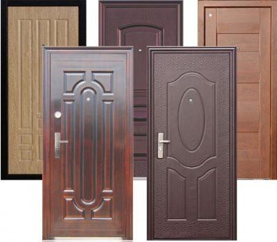 Разновидности входных дверей из металла